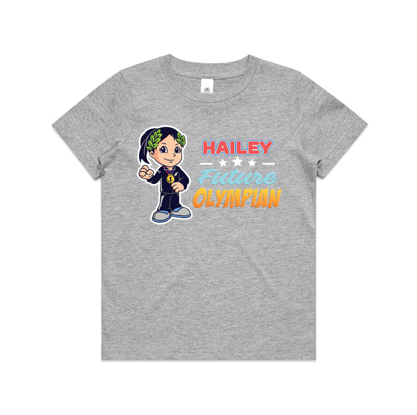 Personalised Kids Tops - Future Olympian