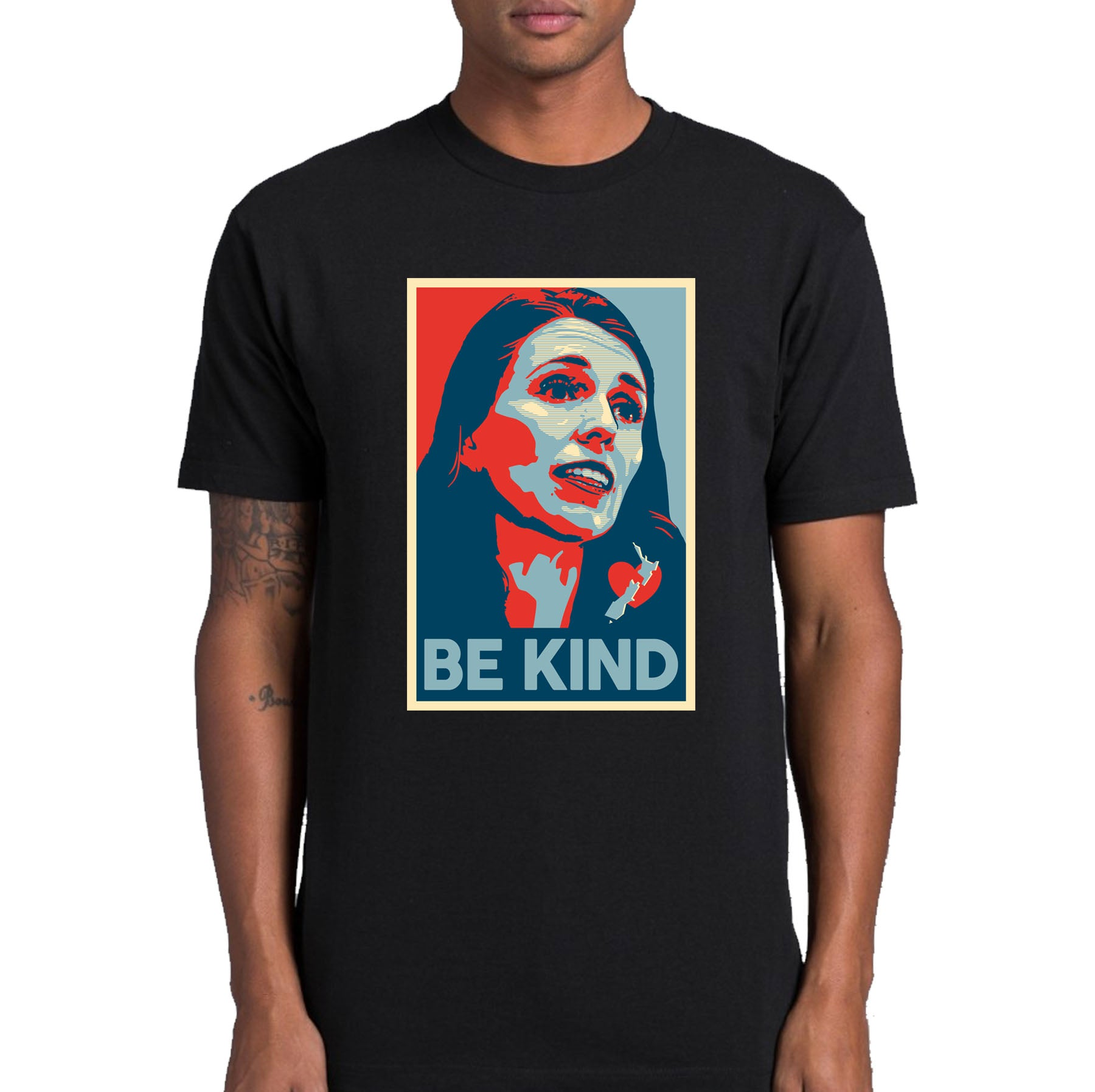 Be Kind - Jacinda Ardern T-shirt