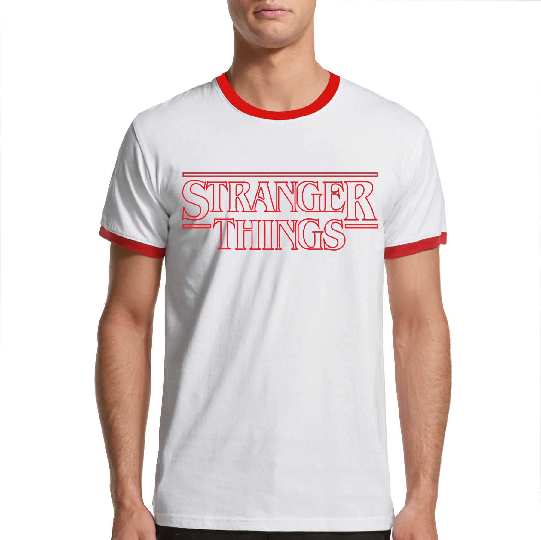 Stranger Things Ringer T-shirt
