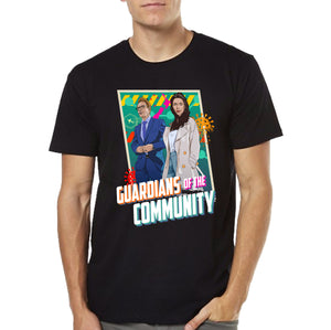 PM Jacinda Ardern & Dr. Ashley Bloomfield Covid19 T-shirt