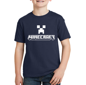Minecraft Logo Kids T-shirt
