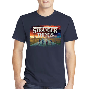 Stranger Things T-shirt - Sunset