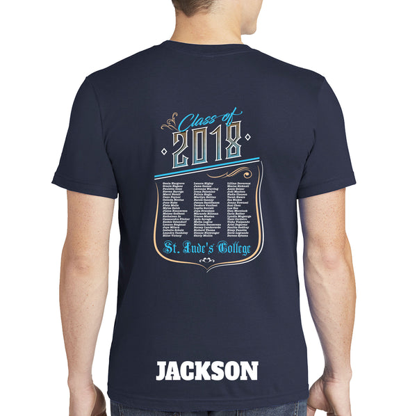 Personalised Leavers T-shirt