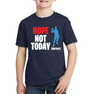 Fortnite Kids T-shirt - Nope Not Today