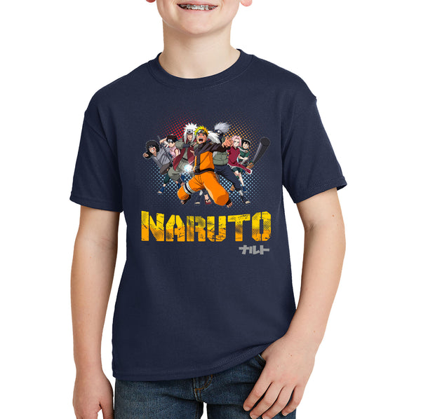 Naruto Shippuden Cast Group T-shirt