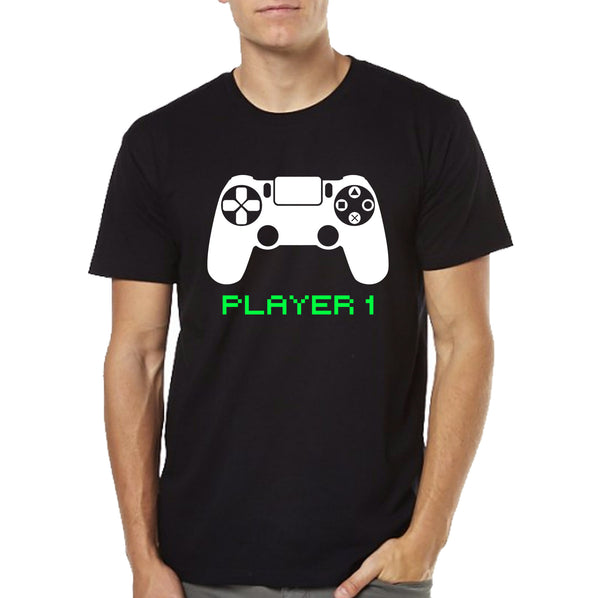 Couple T-shirts - Player 1 & Player 2