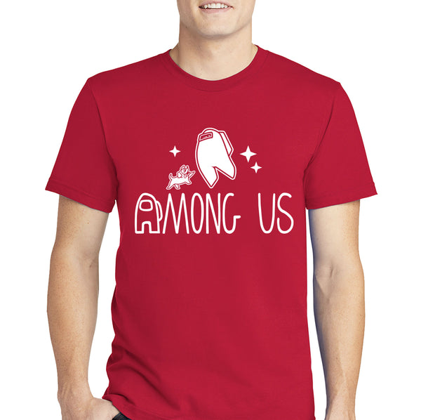 Among Us Spacedog T-shirt