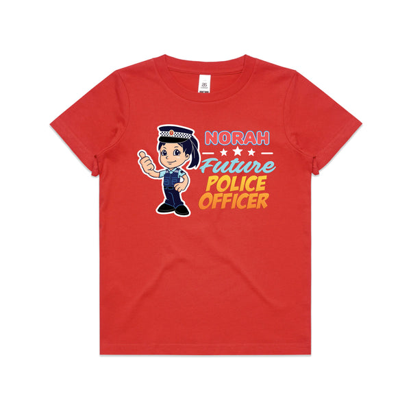 Personalised Kids Tops - Future Police