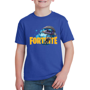 Personalised with name Fortnite T-shirt NZ