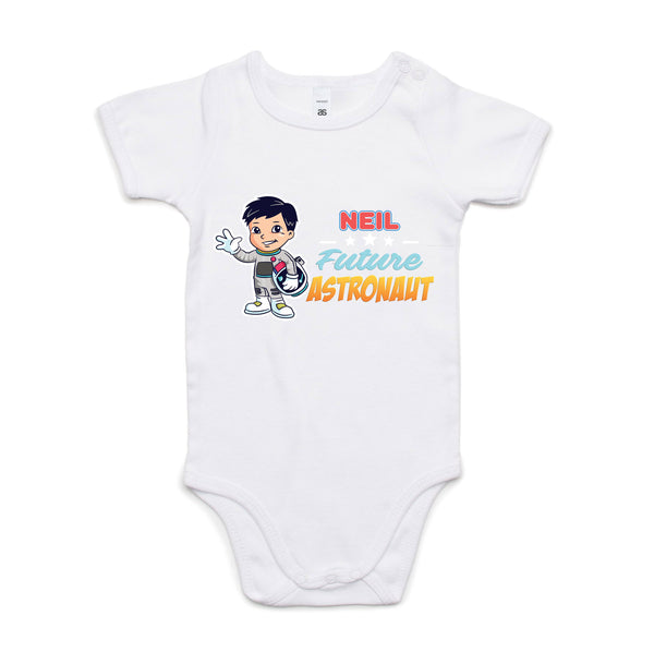 Personalised Baby Onesies - Future Astronaut
