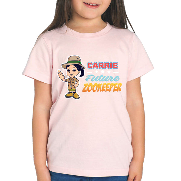 Personalised Kids Tops - Future Zookeeper