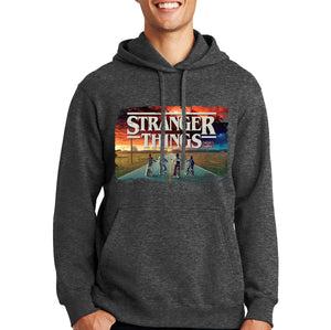 Stranger Things Hoodie - Sunset