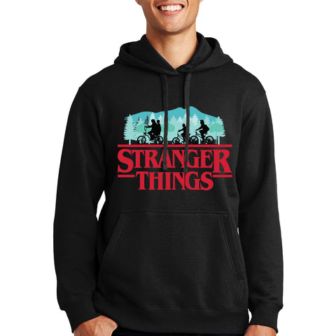 Stranger Things Hoodie - Hawkins D&D Party Members