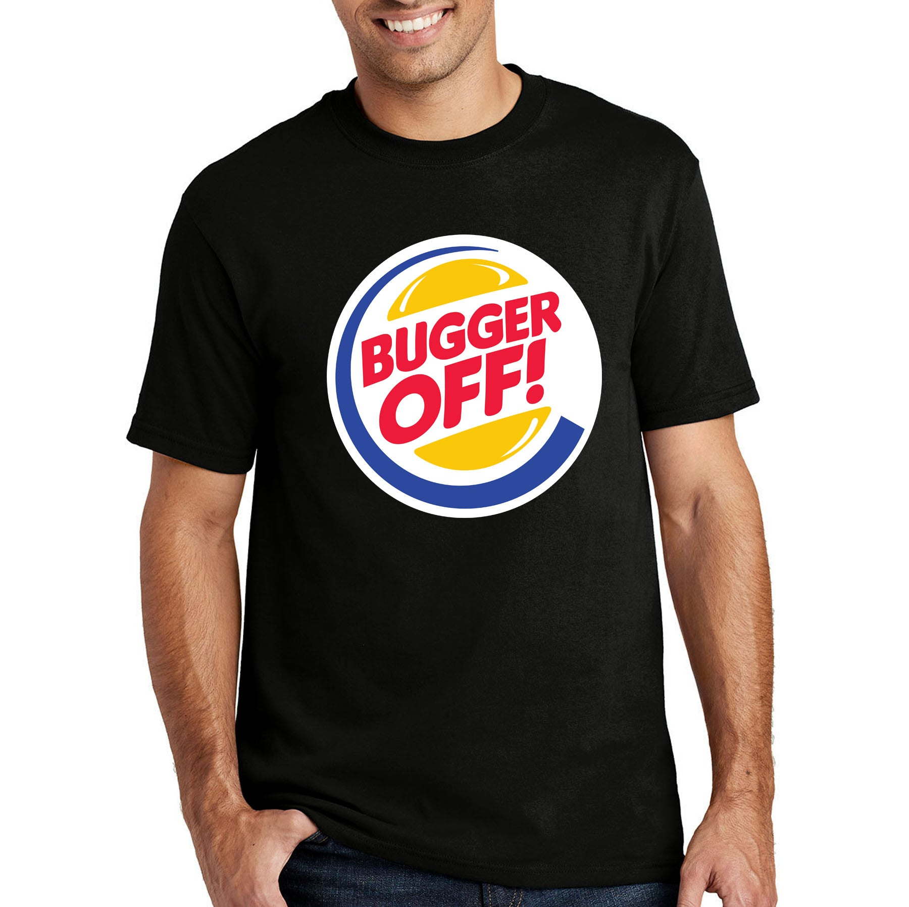 Bugger Off Funny T-shirt