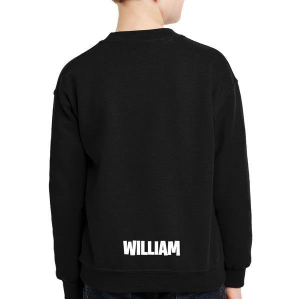 Personalised with name Fortnite Sweatshirt NZ