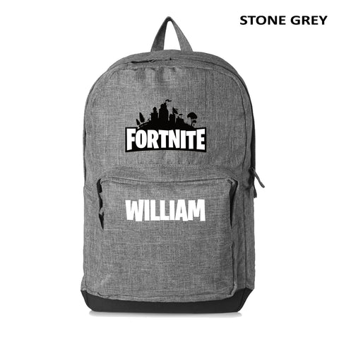 Personalised with name Fortnite Backpack NZ