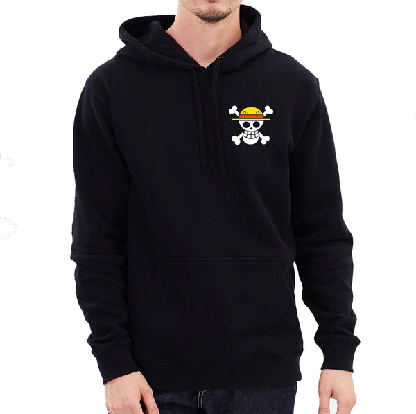 One Piece Luffy & Chopper Hoodie