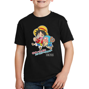 One Piece Luffy & Chopper T-shirt