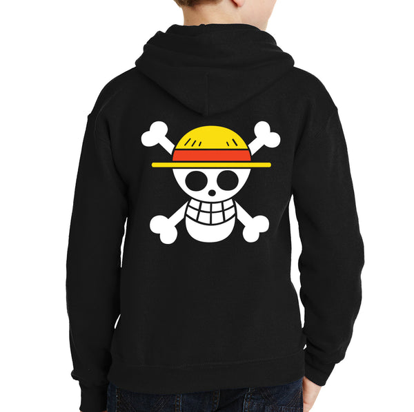 One Piece Cross Bone Hoodie