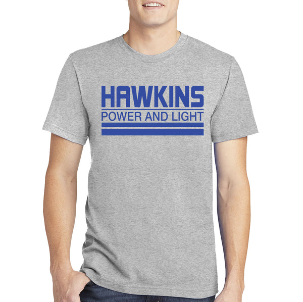 Stranger Things T-shirt - Hawkins Power and Light