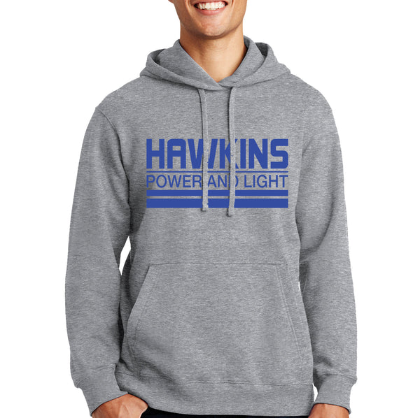 Stranger Things Hoodie - Hawkins Power and Light