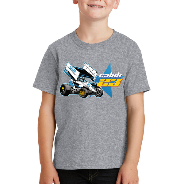Personalised Kids Sprint Car T-shirt