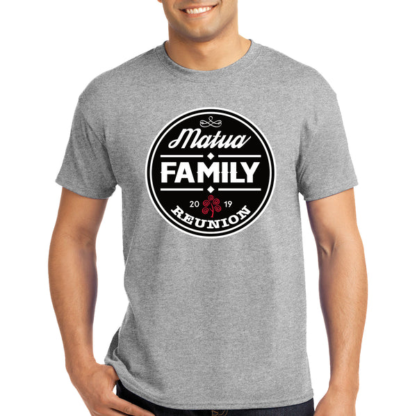 Personalised Reunion T-shirt