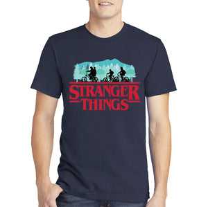 Stranger Things T-shirt - Hawkins D&D Party Members