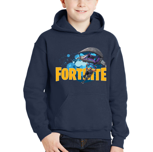 Personalised with name Fortnite Hoodie Glider NZ