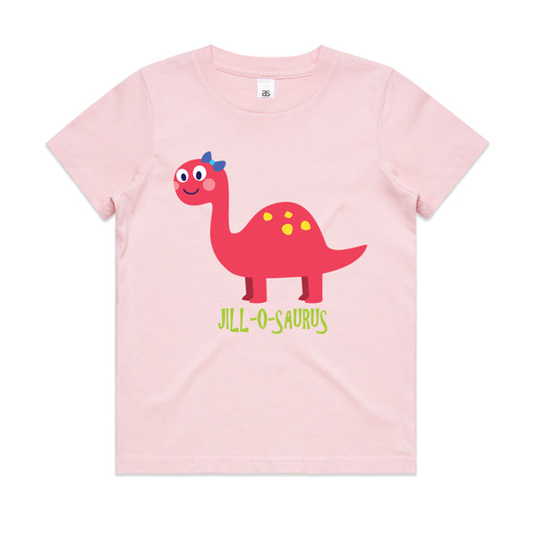 Personalised Kid's Dinosaur T-shirt