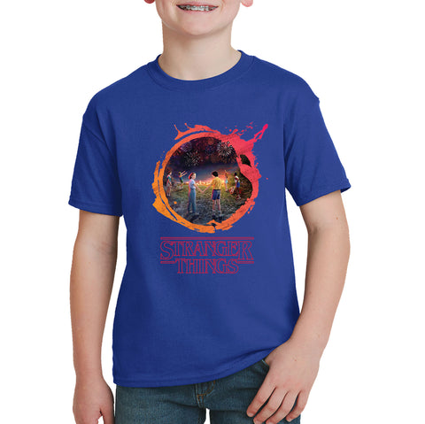 Stranger Things T-shirt - Hawkins Mystery Gang