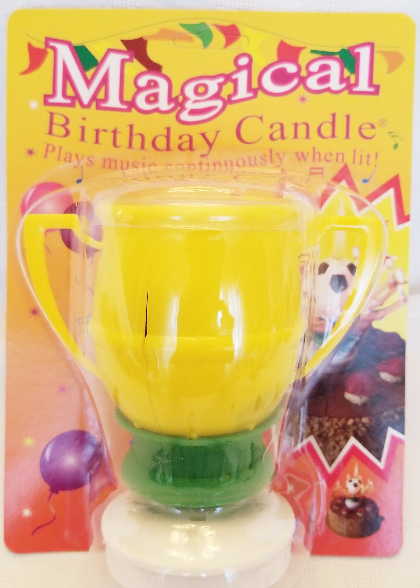 Load Image Into Gallery Viewer Amazing Incredible Magical Birthday Candle Happy Flower Lotus Spinning
