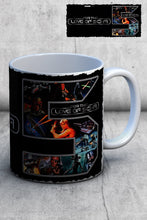 Load image into Gallery viewer, For The Love Of Sci-Fi 5th Birthday Logo Mug 1