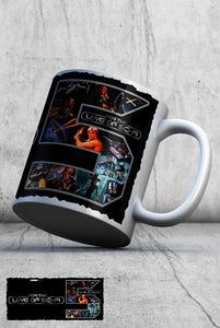 For The Love Of Sci-Fi 5th Birthday Logo Mug 3