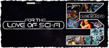 Load image into Gallery viewer, For The Love Of Sci-Fi 5th Birthday Logo Mug 4