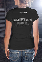 Load image into Gallery viewer, For The Love Of Sci-Fi Dredd I Am The Law T-Shirt With Back Print - Ladies