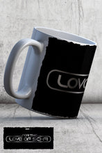 Load image into Gallery viewer, For The Love Of Sci-Fi Logo Ceramic Mug