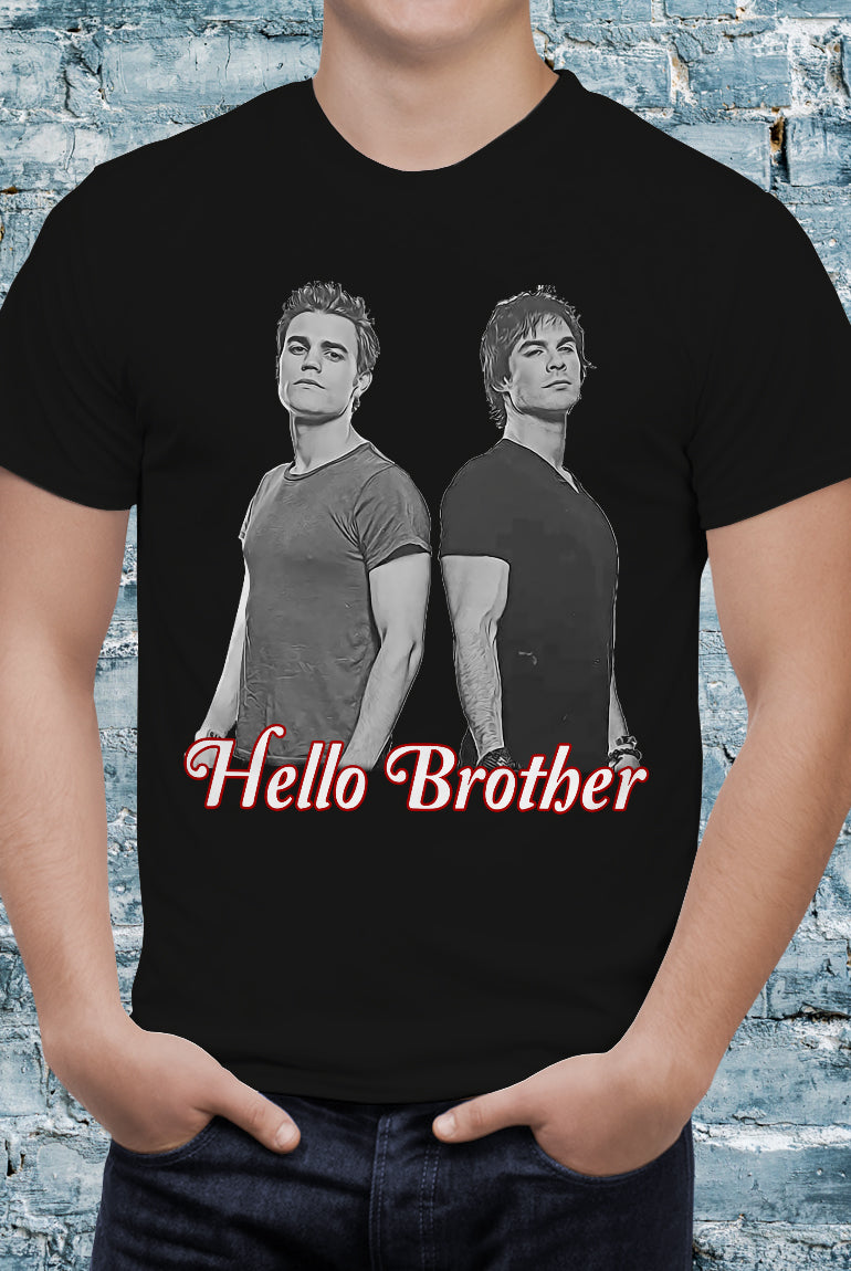 Comic Con Liverpool The Vampire Diaries Hello Brother T-Shirt - Unisex