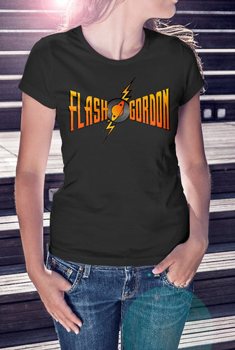 Flash Gordon Logo Ladies Tee