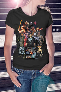 For The Love Of Sci-Fi 5th Birthday Ladies Tee