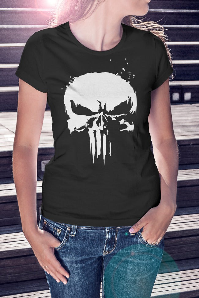 The Punisher Ladies Tee