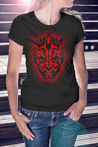 Darth Maul Star Wars Ladies Tee