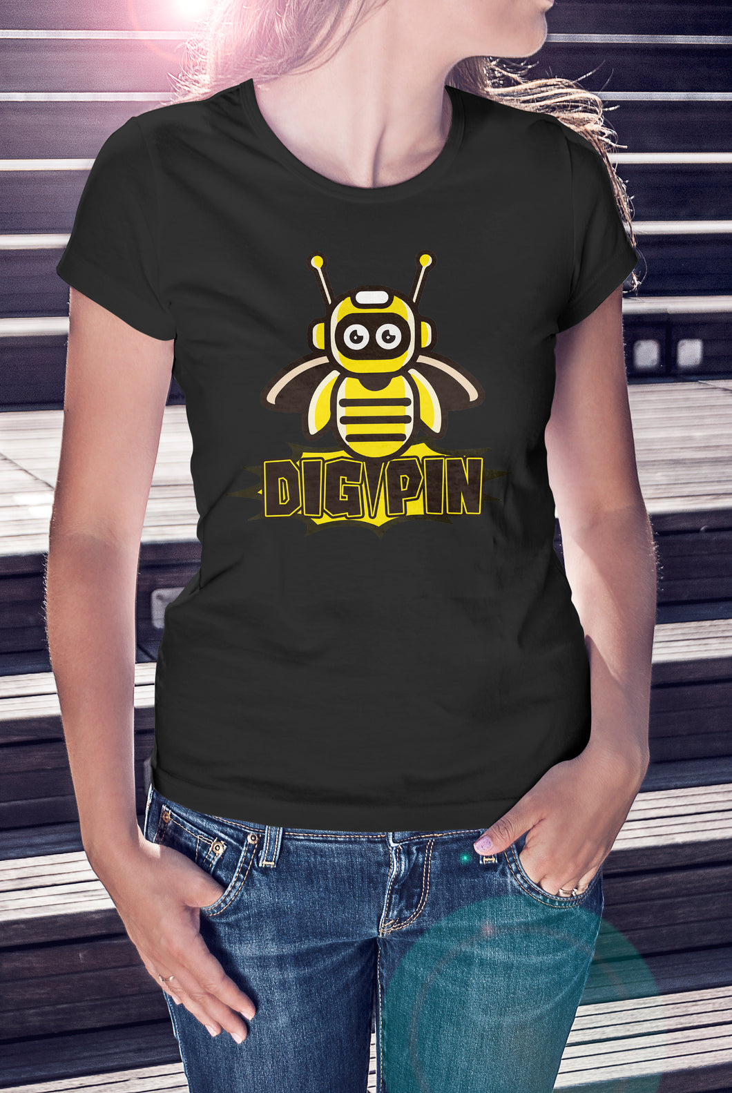 Digipin Logo T-Shirt - Ladies