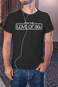For The Love Of 80's Logo T-Shirt With Back Print - Mens
