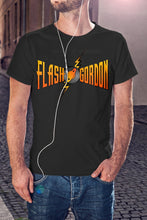 Load image into Gallery viewer, For The Love Of Sci-Fi Flash Gordon T-Shirt With Back Print - Mens