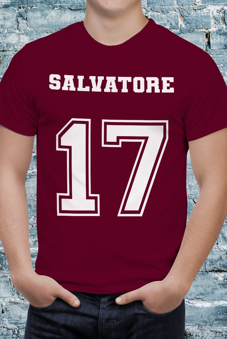 Comic Con Liverpool The Vampire Diaries Salvatore 17 T-Shirt - Unisex