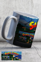 Load image into Gallery viewer, For The Love Of Horror Lost Boys Santa Carla Sign Ceramic Mug
