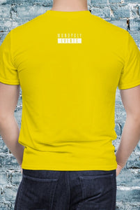 Monopoly Events Rear Of Tee Yellow - Unisex