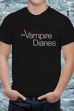Load image into Gallery viewer, Comic Con Liverpool Personalised I Heart Stefan The Vampire Diaries Logo T-Shirt - Unisex
