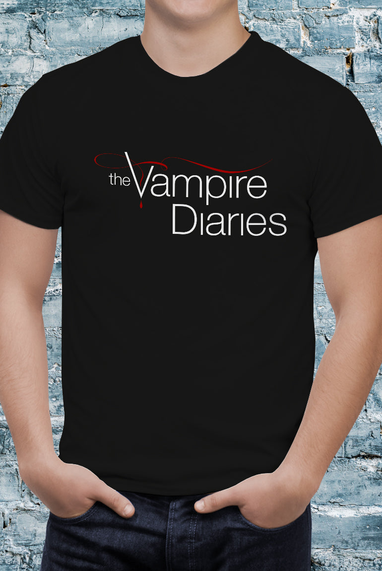 Comic Con Liverpool Personalised I Heart Stefan The Vampire Diaries Logo T-Shirt - Unisex